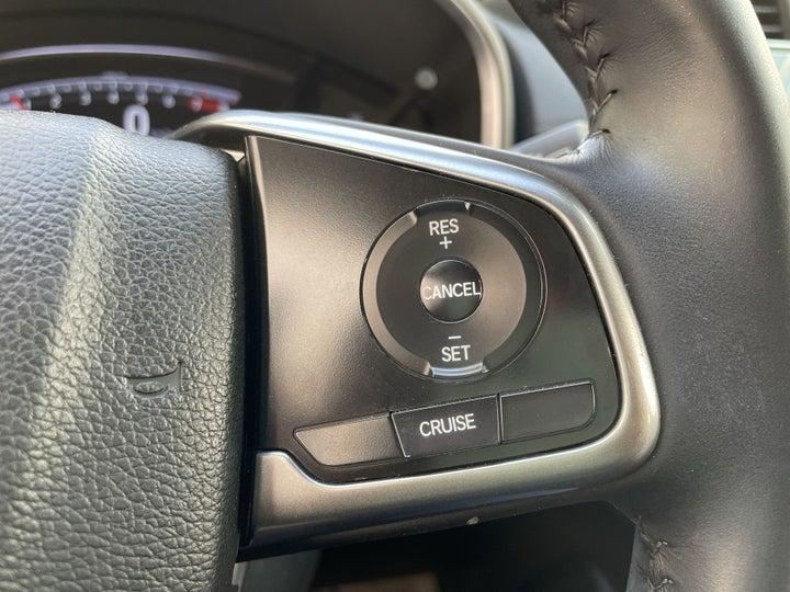 Honda CRV-CRUISE CONTROL
