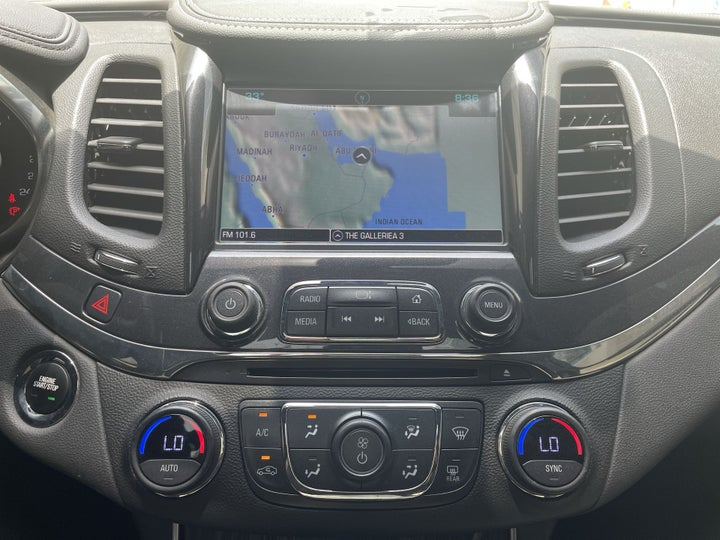 Chevrolet Impala-CENTER CONSOLE