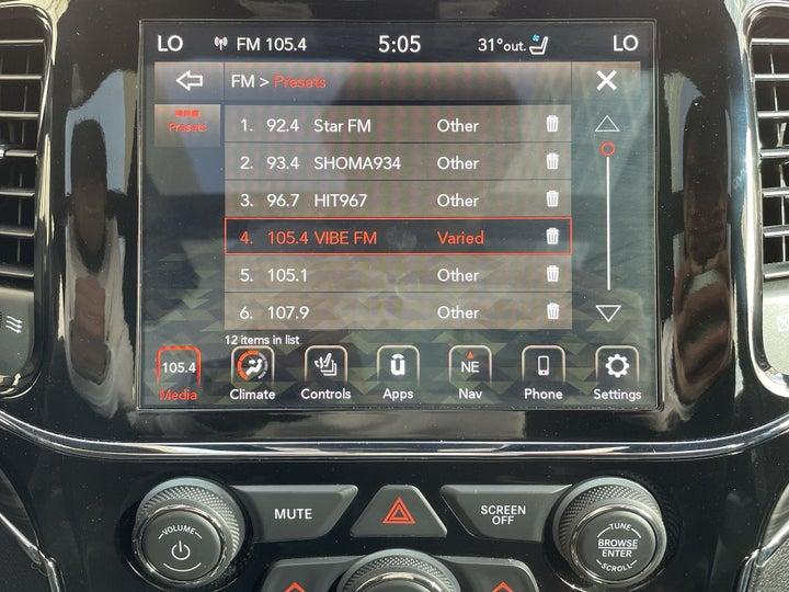 Jeep Grand Cherokee-INFOTAINMENT SYSTEM