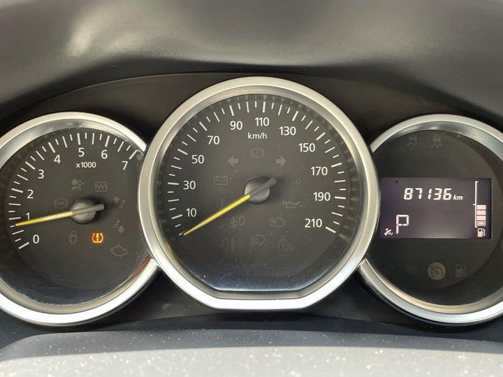 Renault Symbol-ODOMETER VIEW
