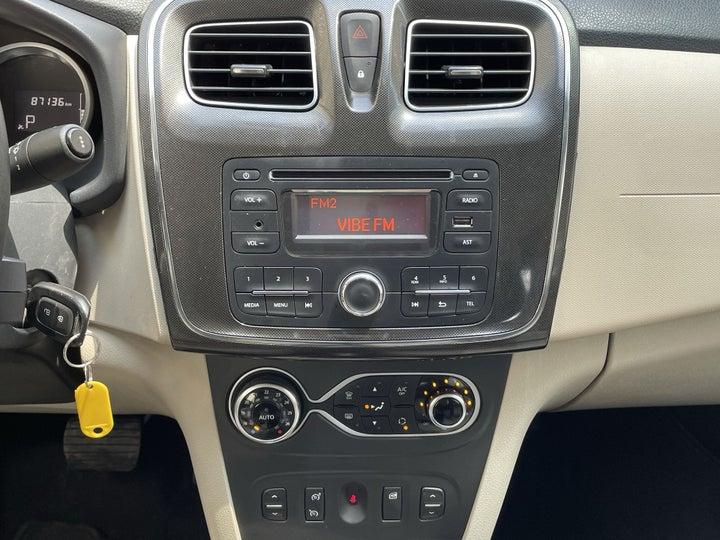 Renault Symbol-CENTER CONSOLE