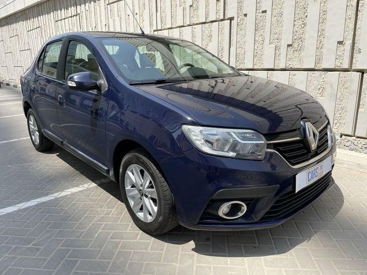 Renault Symbol-RIGHT FRONT DIAGONAL (45-DEGREE) VIEW
