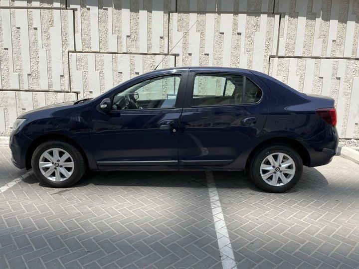 Renault Symbol-LEFT SIDE VIEW