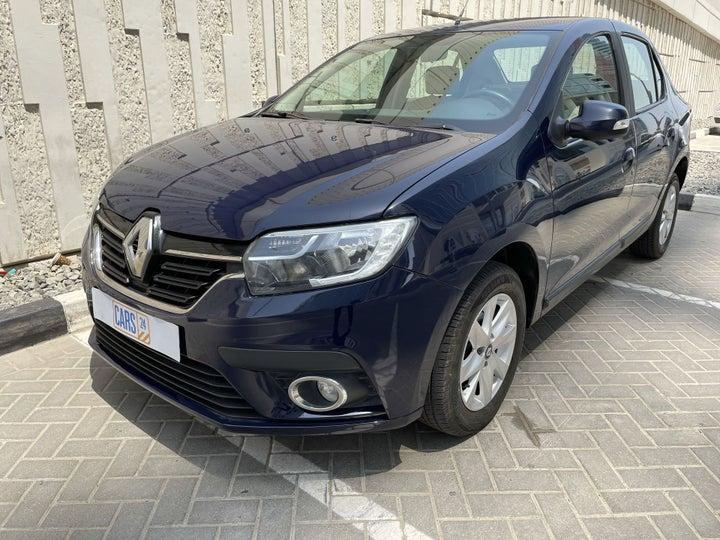 Renault Symbol-LEFT FRONT DIAGONAL (45-DEGREE) VIEW