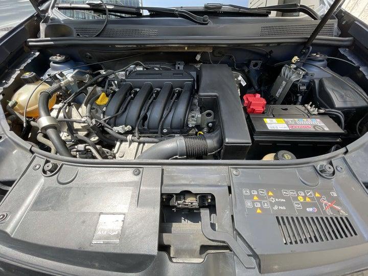 Renault Symbol-OPEN BONNET (ENGINE) VIEW