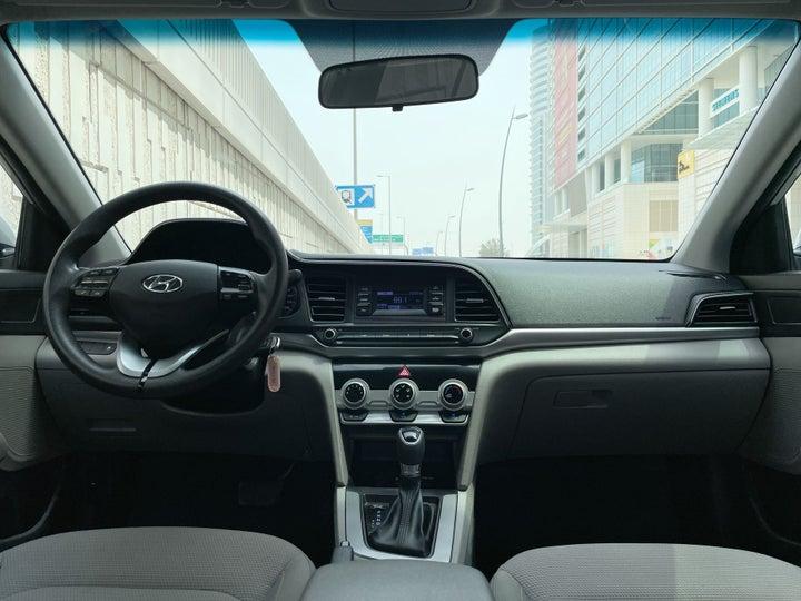 Hyundai Elantra-DASHBOARD VIEW