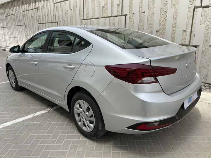 Hyundai Elantra-LEFT BACK DIAGONAL (45-DEGREE) VIEW