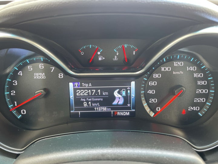 Chevrolet Impala-ODOMETER VIEW