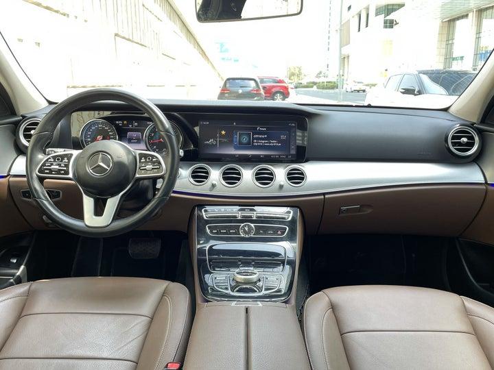 Mercedes Benz E-Class-DASHBOARD VIEW