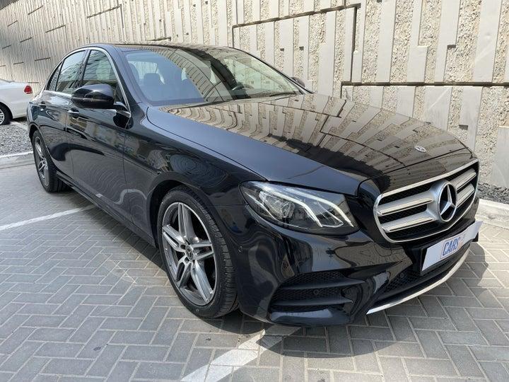 Mercedes Benz E-Class-RIGHT FRONT DIAGONAL (45-DEGREE) VIEW