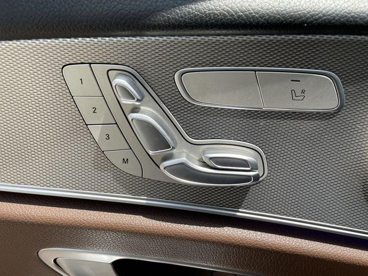 Mercedes Benz E-Class-DRIVER SIDE ADJUSTMENT PANEL