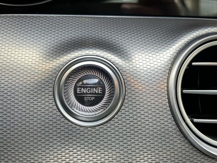 Mercedes Benz E-Class-KEYLESS / BUTTON START