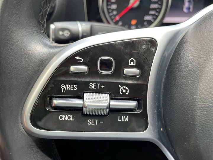 Mercedes Benz E-Class-CRUISE CONTROL