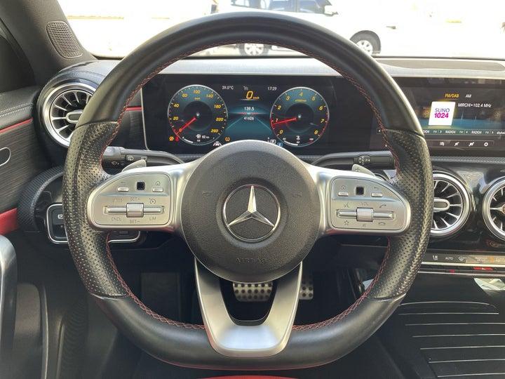 Mercedes Benz A-Class-STEERING WHEEL CLOSE-UP
