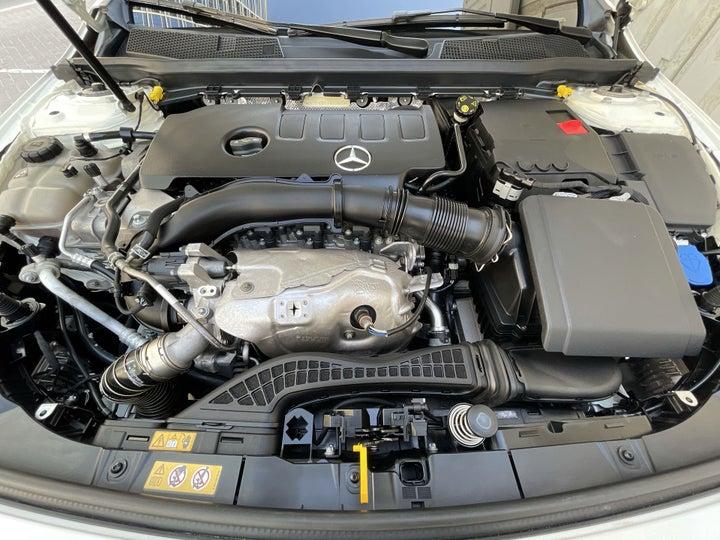 Mercedes Benz A-Class-OPEN BONNET (ENGINE) VIEW