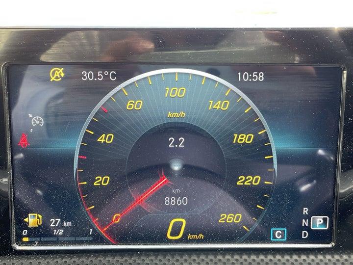 Mercedes Benz A-Class-ODOMETER VIEW