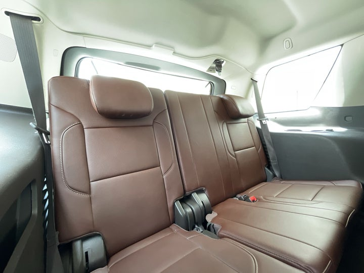Chevrolet Tahoe-THIRD SEAT ROW (ONLY IF APPLICABLE - EG. SUVS)