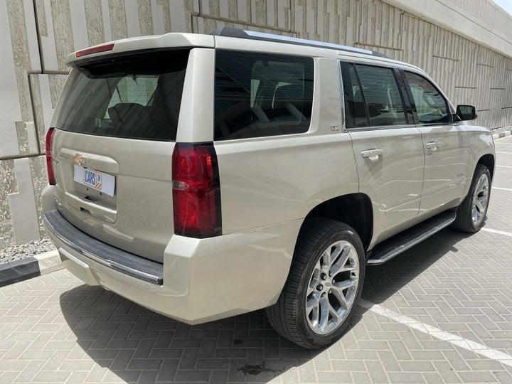 Chevrolet Tahoe-RIGHT BACK DIAGONAL (45-DEGREE VIEW)