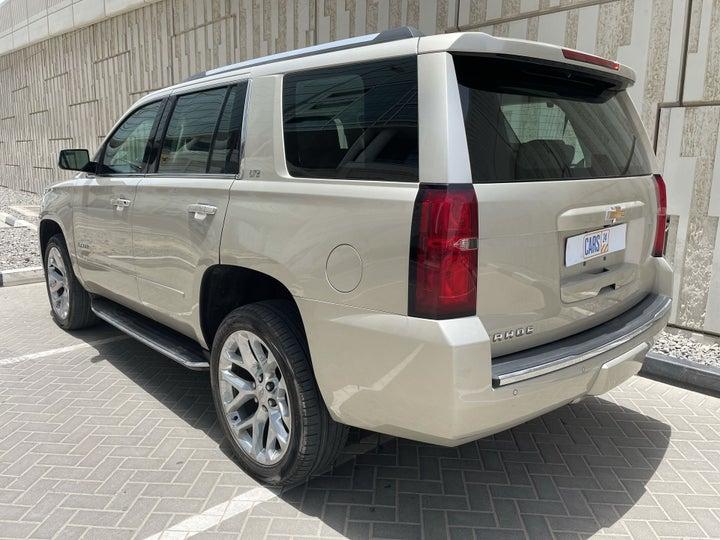Chevrolet Tahoe-LEFT BACK DIAGONAL (45-DEGREE) VIEW