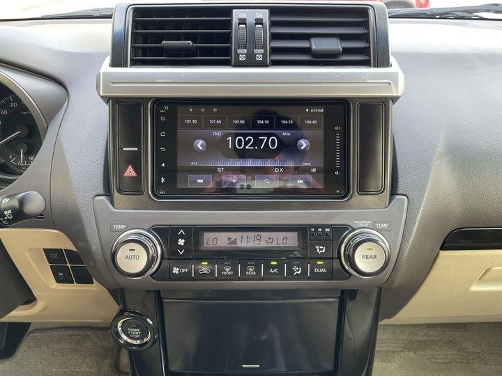 Toyota Prado-CENTER CONSOLE