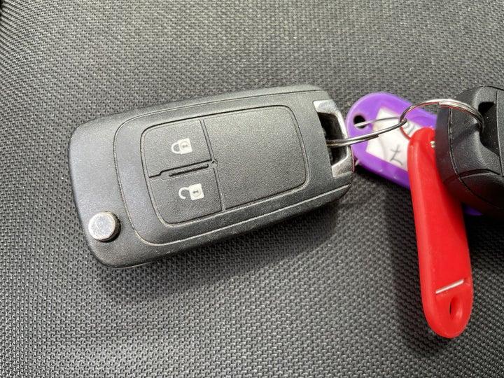 Chevrolet Spark-KEY CLOSE-UP