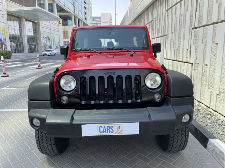Jeep Wrangler-FRONT VIEW