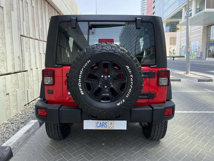 Jeep Wrangler-BACK / REAR VIEW