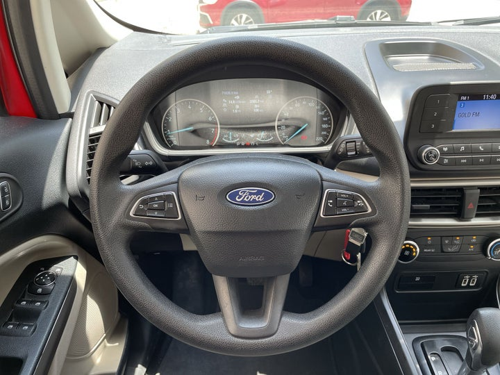 Ford EcoSport-STEERING WHEEL CLOSE-UP