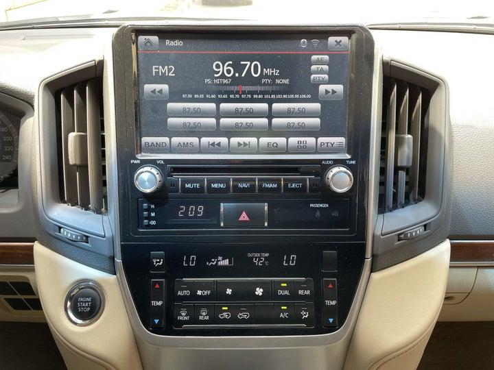 Toyota Landcruiser-CENTER CONSOLE