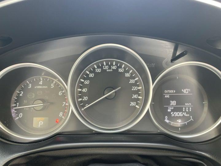 Mazda CX-5-ODOMETER VIEW