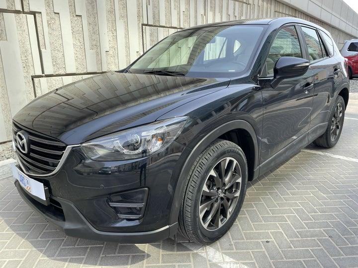 Mazda CX-5-LEFT FRONT DIAGONAL (45-DEGREE) VIEW
