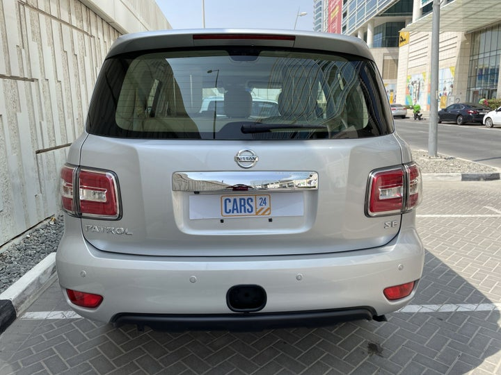Nissan Patrol-BACK / REAR VIEW