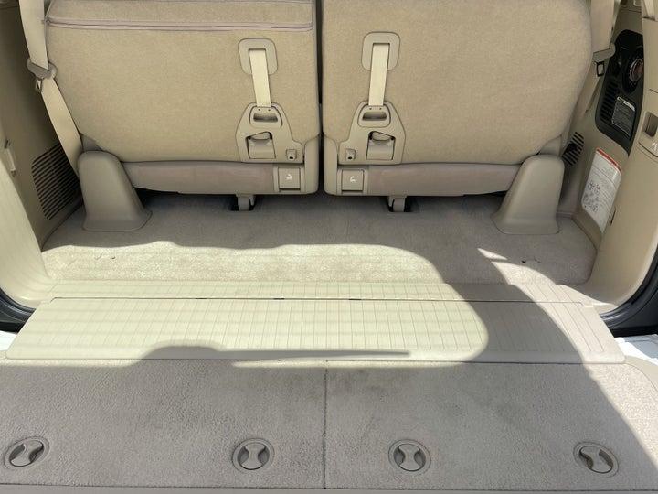Toyota Landcruiser-BOOT INSIDE VIEW