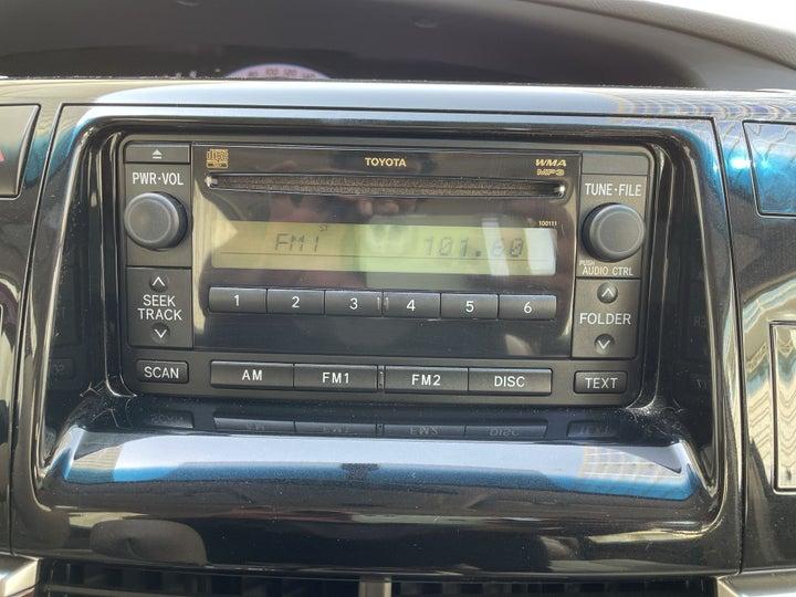 Toyota Previa-INFOTAINMENT SYSTEM