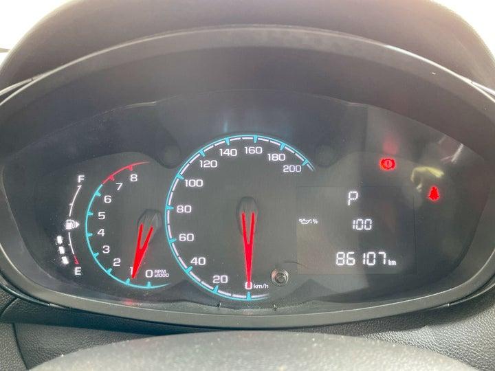 Chevrolet Spark-ODOMETER VIEW