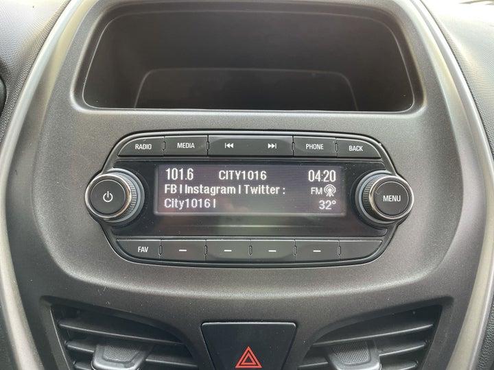 Chevrolet Spark-INFOTAINMENT SYSTEM
