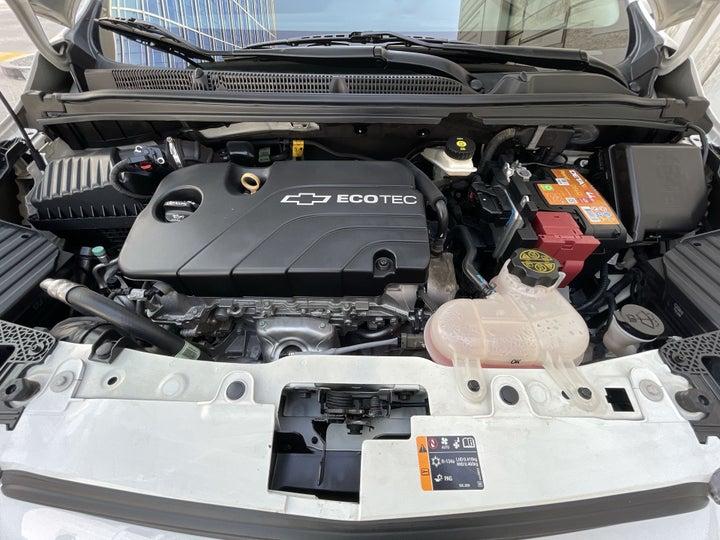 Chevrolet Spark-OPEN BONNET (ENGINE) VIEW