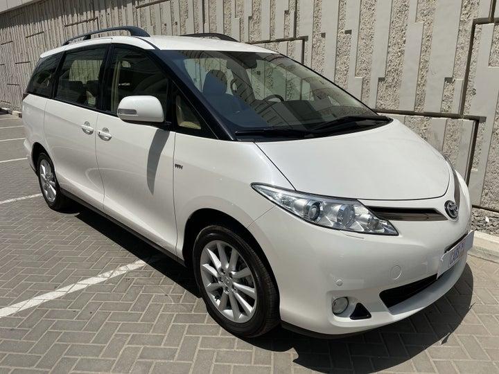 Toyota Previa-RIGHT FRONT DIAGONAL (45-DEGREE) VIEW