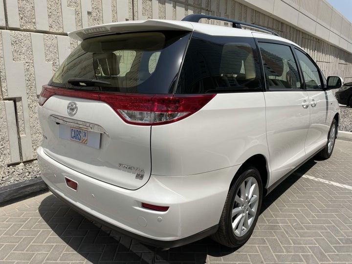 Toyota Previa-RIGHT BACK DIAGONAL (45-DEGREE VIEW)