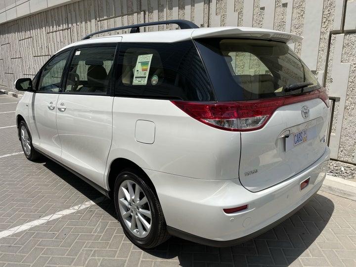 Toyota Previa-LEFT BACK DIAGONAL (45-DEGREE) VIEW