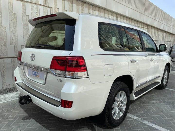 Toyota Landcruiser-RIGHT BACK DIAGONAL (45-DEGREE VIEW)