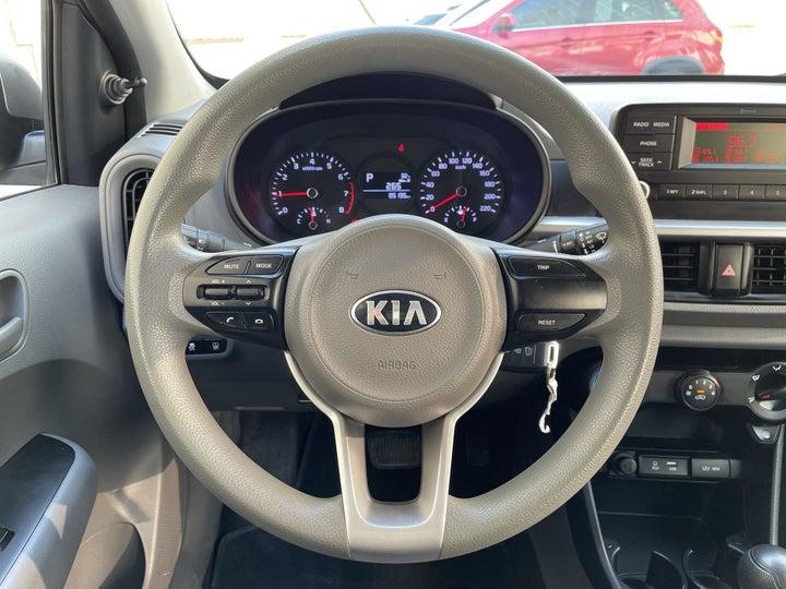 Kia Picanto-STEERING WHEEL CLOSE-UP