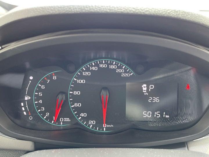 Chevrolet Trax-ODOMETER VIEW