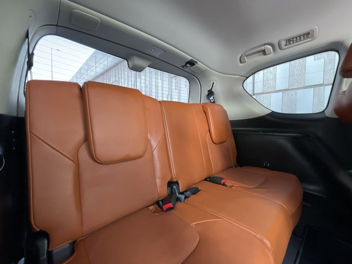 Nissan Patrol-THIRD SEAT ROW (ONLY IF APPLICABLE - EG. SUVS)