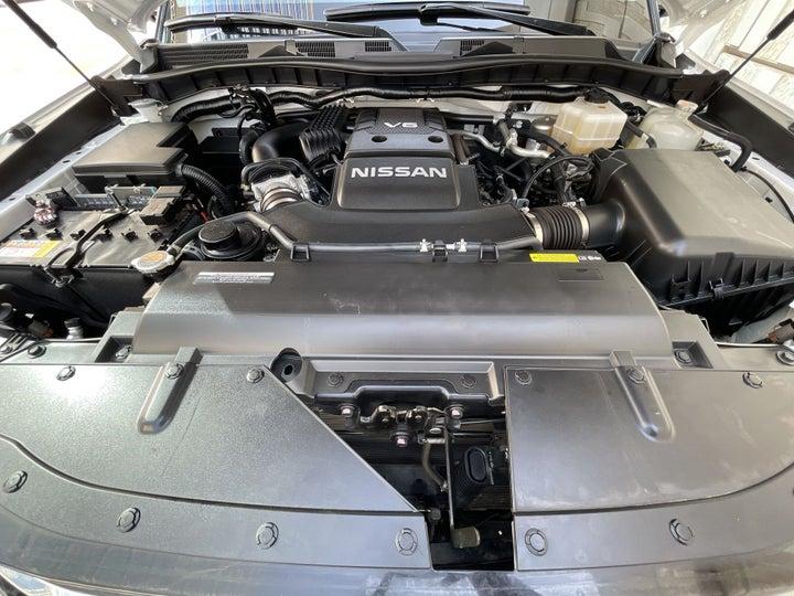 Nissan Patrol-OPEN BONNET (ENGINE) VIEW