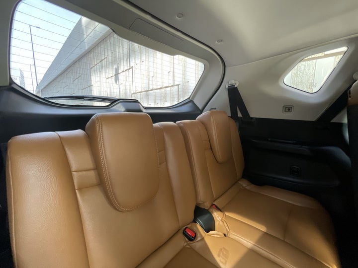 Nissan X-Trail-THIRD SEAT ROW (ONLY IF APPLICABLE - EG. SUVS)
