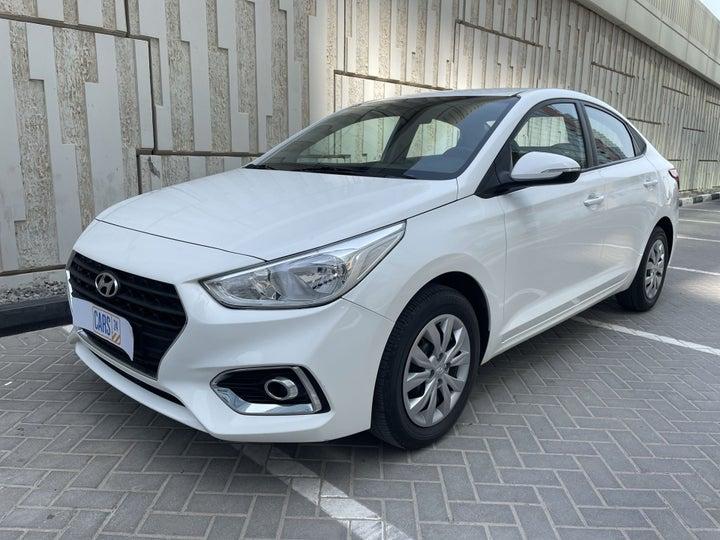 Hyundai Accent-LEFT FRONT DIAGONAL (45-DEGREE) VIEW