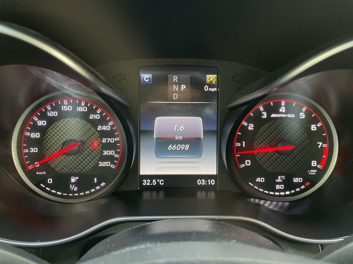 Mercedes Benz GLC 63-ODOMETER VIEW