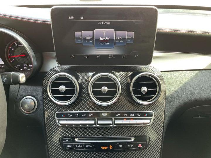 Mercedes Benz GLC 63-CENTER CONSOLE