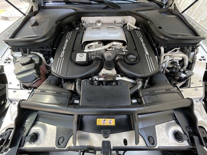 Mercedes Benz GLC 63-OPEN BONNET (ENGINE) VIEW